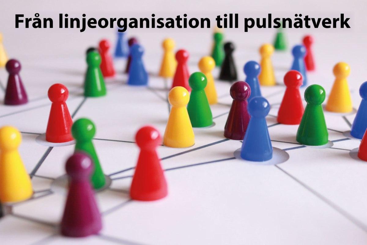 Från linjeorganisation till pulsnätverk